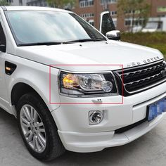 Car Styling For Land Rover Freelander 2 LR2 2012 2013 2014 2015 ABS Chrome Front headlight Cover Head lights Lamp Cover trim #Affiliate