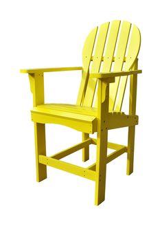 Captiva Counter Height Adirondack Chair