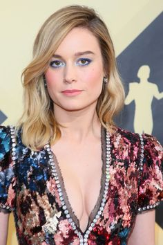 Brie Larson Has The Most Underrated Glow-Up In Hollywood Brie Larson, Blond, Thin Hair Cuts, Fringe Fashion, Hollywood, Long Bob Hairstyles, Haircuts, Gal Gadot, Hair Trends