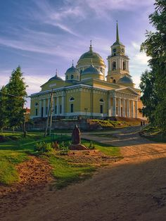 male priory , island Stolobny, Ostashkov region Tver area . is founded in 1594 ,lake Seligher , Russia