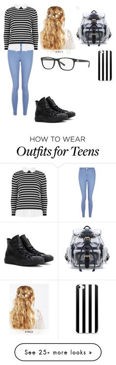"""Untitled #16"" by stacey555 on Polyvore featuring New Look, Converse, ASOS and Armani Exchange"