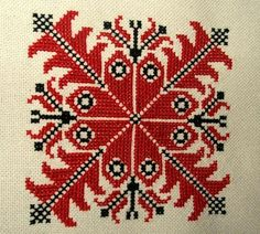 ALL, THAT IS HUNGARIAN - Homespun and cross stitch embroidery of Bereg in the Provincial House of Tákos Hungarian Embroidery, Learn Embroidery, Cross Stitch Embroidery, Hand Embroidery, Cross Stitch Patterns, Cross Stitch Geometric, Vintage Jewelry Crafts, Christmas Cross, Chain Stitch