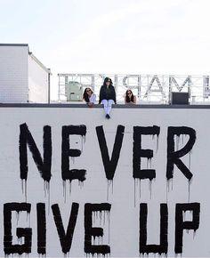 Weekend reminder. #nevergiveup @masterwilliams