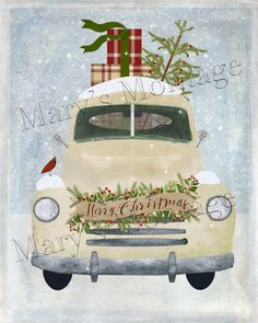 Merry Christmas Pick up Truck, 8x10, Printable download. Download, printable Art, 8x10. 1 300 DPI jpeg file. Also included is a PNG (transparent background) of this image. Available for instant download. Printable Files, Terms of Use: You CAN: 1. Print files for personal use. 2. Give