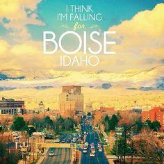 I think I'm falling for Boise Idaho.
