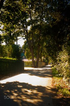 Old Street In Nomme - An old street in the area called Nomme in Tallinn…