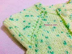 YAKADAN BAŞLAMALI BAŞTAN SONA ÖRGÜ BEBEK YELEK YAPILIŞI TÜRKÇE VİDEOLU | Nazarca.com Knitted Hats, Blanket, Knitting, Crochet, Youtube, Hama, Tricot, Breien, Stricken