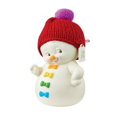 Free To Be Me Snowman Figure, Medium - Snowpinions by Department 56