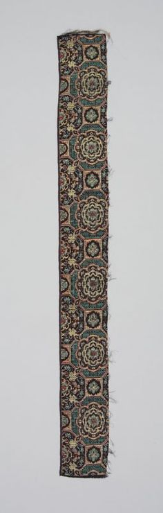fragment of Chinese brocade.