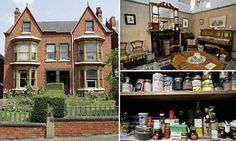 The house that time forgot: Red brick semi is frozen in the 1920s with original decoration, food and furniture untouched for 90 YEARS | Mail Online