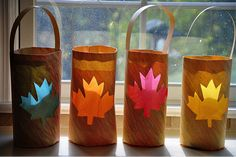 Use the leaf idea and add the letters FALL (one letter for each bag) to add something special to this project. Great Fall Crafts for Kids - So You Think You're Crafty Autumn Crafts, Fall Crafts For Kids, Thanksgiving Crafts, Holiday Crafts, Kids Crafts, Arts And Crafts, Quick Crafts, Leaf Crafts, Kids Diy