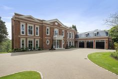 Falconwood House – A Newly Built Brick Mansion In Surrey, England | HOTR