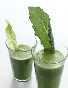 All green juice