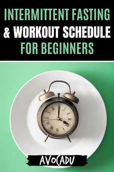 Intermittent fasting and working out are great ways to lose weight--but they're even more effective if you use them together the right way. We'll share intermittent fasting tips and a workout schedule that are perfect for beginners, and will help you shed weight like crazy! #avocadu #intermittentfasting #workoutschedule #mealplan #forbeginners Diets For Beginners, Yoga For Beginners, Lose Weight Quick, Fast Weight Loss, Intermittent Fasting Morning Workout, Fat For Fuel, Low Impact Workout, Workout Schedule, Yoga Tips