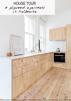 Plywood is fast becoming one of my favourite material. It has the benefit of being affordable while adding warmth andtexturesto an interior.