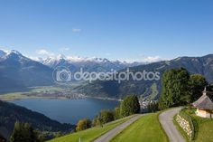 #View From #Mitterberg To #ZellAmSee #Lake #Zell & #Kitzsteinhorn @depositphotos #depositphotos #nature landscape #outdoor #holidays #vacation #sightseeing #lreisure #travel #bluesky #panorama #view #season #summer #autumn #fall #colorful #beautiful #wonderful #stock #photo #portfolio #download #hires #royaltyfree