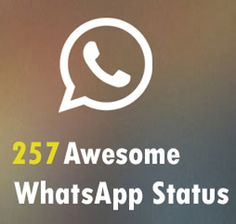 257 Best Cool WhatsApp Status Updates to Express your Mood