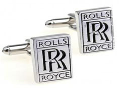 Rolls Royce Logo SUV Auto Groomsman Wedding Cufflinks with Gift Box From Outlander Rolls Royce Logo, Harley David, Brass Material, Stocking Stuffers, Gifts, Accessories, Wedding Cufflinks, Sci Fy, Design