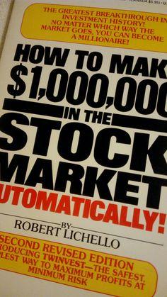 How to Make 1,000,000 in the Stock Market Automatically! de Robert Lichello - Libros - Edufinanzas