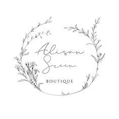 ✘ Creative branding & Premade logo ✘ by EmDesignsPaper Logo Photographe, Cake Logo Design, Florist Logo, Photographer Logo, Farm Logo, Wreath Drawing, Seal Design, Branding Kit, Grafik Design