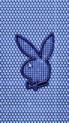 Chanel Wallpapers, Cute Wallpapers, Wallpaper Backgrounds, Wattpad Background, Playboy Logo, Baby Blue Aesthetic, Bunny Logo, Iphone Wallpaper Tumblr Aesthetic, Playboy Bunny