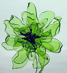 Plastic Flower Bottle Flower, Home Decor
