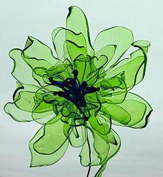 Plastic Flower Bottle Flower, Home Decor