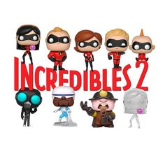 Finally!! The Incredibles 2 Funko POPs now available for pre-order!  Link In bio (News Section)  #funkopop #funkopops #funkopopvinyl #popvinyl #funkofamily #funkofam #funkocollector #funkocollection #funkocollectors #funkogram #funkomania #funkoaddict #funkofan #funatic #popphotography #funkophotoaday #disneypops #theincredibles2 #theincredibles2pops