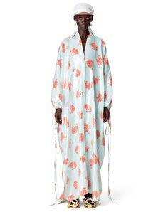 LANVIN OVERSIZE SEQUIN SHIRT DRESS US $5,490 Long Sequin Dress, Sequin Shirt, Ladies Day Dresses, Oversized Shirt Dress, Kids Logo, Black Ribbon, Mother And Child, Lanvin, Kimono Top