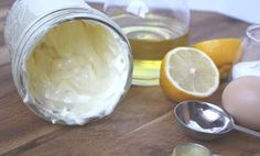 Barefeet In The Kitchen: Quick and Easy Homemade Mayonnaise with Olive Oil