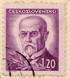 Czechoslovakian Post Stamps | Tomáš Garrigue Masaryk: en.wik… | Flickr European Countries, Childhood Memories, Czech Republic, Books, Stamps, Movie Posters, Photography, Art, Seals