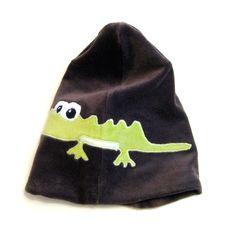 Hippu. Handmade crocodile beanie. Crocodile, Beanie, Hats, Handmade, Fashion, Crocodiles, Hand Made, Moda, Hat