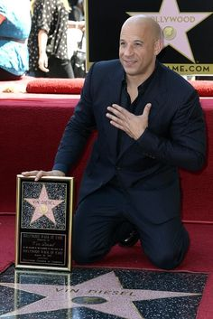 Vin Diesel  Hollywood Walk of Fame