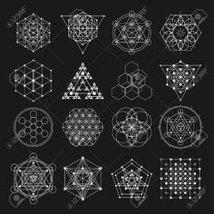 Illustration about Sacred geometry design elements. Alchemy religion, philosophy, spirituality hipster symbols and elements. Illustration of geometry, abstract, hipster - 66685999