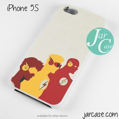 flash and his frends Phone case for iPhone 4/4s/5/5c/5s/6/6 plus