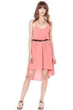 Sofia cross strap dress