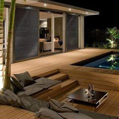 Decking and Flooring in Johannesburg, Plastic decking prices Deck Flooring, Plastic Decking, Construction Party, Swimming Pools Backyard, Composite Decking, Wooden Decks, Deck Design, Interior, Houses