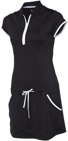 SUNICE SILVER Lisa Golf Dress with Drawstring