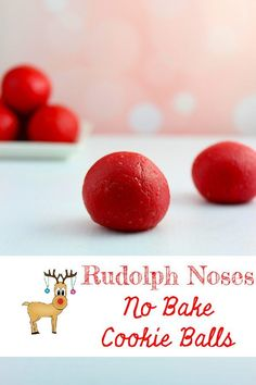 I hope you all have a wonderful holiday! If you need some last minute ideas, I have one last recipe for ya! How about No Bake Rudolph Noses Cookie Balls? Tasty little red bits of goodness and fun for the kiddos! Only three ingredients, so you can whip these up in a jiffy!   Need more last minute ideas? Check out these recipes and inspirations: No Bake Walnut Cookie Balls Mocha Peppermint Coffee Cream No Bake Cranberry Nut Bars Candy Cane Sugar Handmade Gift Candy Cane Coffee Creamer Gift No…