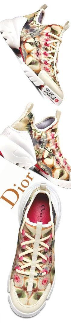 f3ddba778 ❈Téa Tosh❈ DIOR, D-Connect Kaleidiorscopic Sneaker   #Dior #teatosh