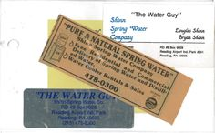 In celebration of our 25th anniversary... old marketing and promotional materials. #25years #thewaterguy