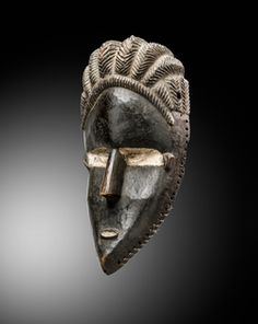 Mask DAN BASA Côte d'Ivoire / Liberia  Early twentieth century - Lucas Ratton