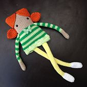 Ravelry: Long Legged Dolly pattern by Button Beautiful