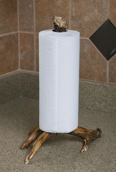 Faux-antler Paper Towel Holder