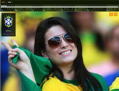 Captura de tela parcial do infográfico interativo Torcidas da Copa de 2014