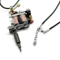 Aliexpress.com : Buy FUNIQUE Mini Tattoo Machine Necklace Punk Necklaces & Pendants For Men Hip Hop Jewelry Gifts Women Necklace 45cm from Reliable necklace piece suppliers on Lisa Jewelry Findings Store