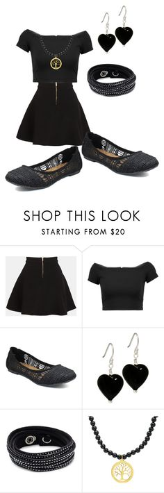 """""""Second Day Outfit"""" by jeanaye on Polyvore featuring Parker, Alice + Olivia, Jellypop and Swarovski"""