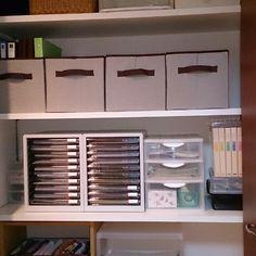 すぐ溜まってしまう、プリントの収納術   RoomClip mag   暮らしとインテリアのwebマガジン Tiny House Storage, Diy And Crafts, Home Appliances, Organization, Furniture, Nitori, Organize, House Appliances, Getting Organized