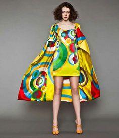 Sonia Delaunay spring-summer 2014