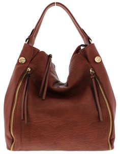 ELEKTRA RED BROWN WOMEN'S HANDBAG ONLY $18.88